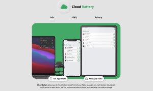 「Cloud Battery」公式サイトのスクリーンショット